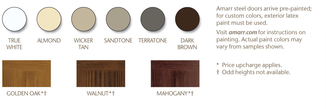 Merveilleux Color Options For The Amarr Classica Collection