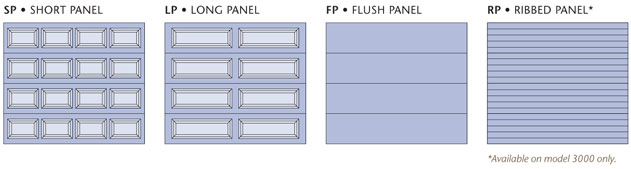 Panel options for the Amarr Stratford Collection